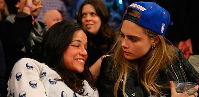 Michelle Rodríguez y Cara Delevingne están juntas