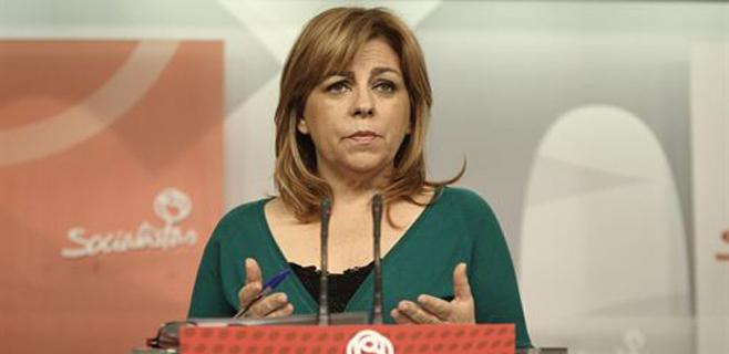 Elena Valenciano, cabeza de cartel del PSOE a las europeas