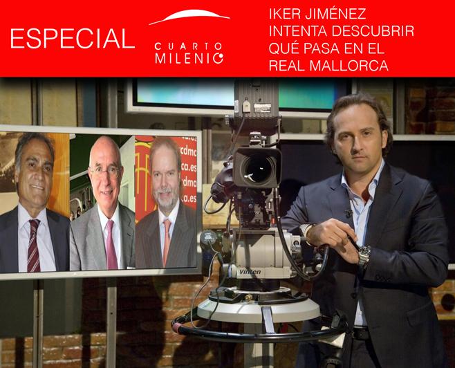 El Mallorca a debate en Cuarto Milenio | mallorcadiario.com