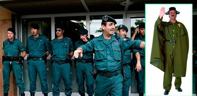 El disfraz de Guardia Civil sí estará permitido
