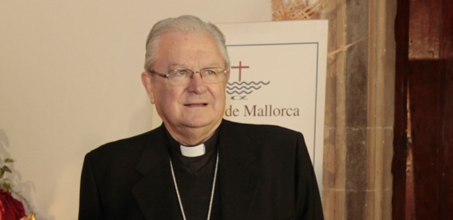 El obispo visita Lluc y la Escolanía en pleno estallido del