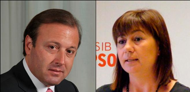 Armengol piensa en Mesquida como candidato socialista a Cort en 2015