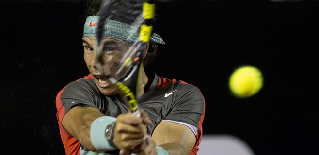 Nadal gana a Gimeno-Traver con muchas dificultades (6-3 y 7-5)