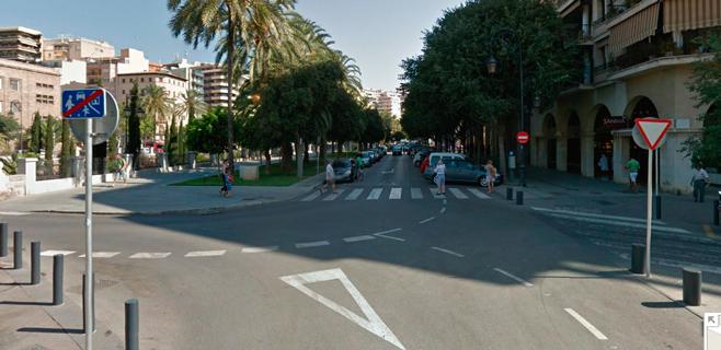EMAYA corta un tramo del Paseo Mallorca