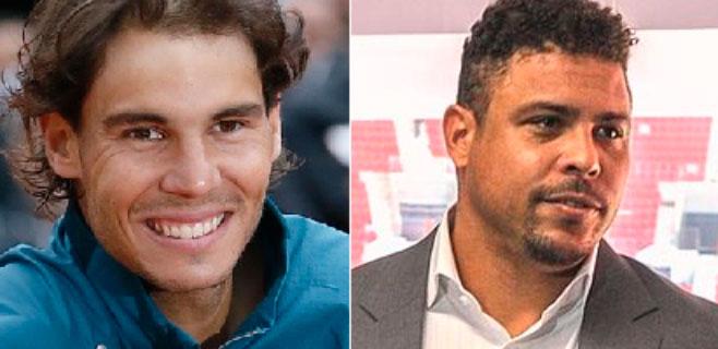 Rafa Nadal y Ronaldo se asocian