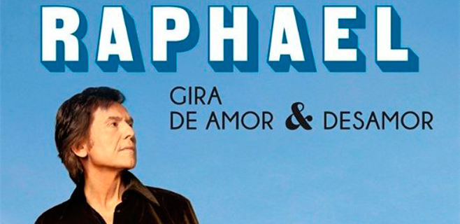 Nuevo disco y gira de Raphael