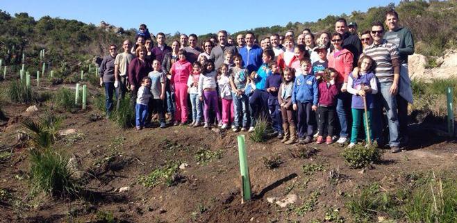 Sa Duaia de Artà recupera 250 árboles