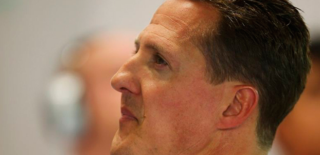 Schumacher sale del coma y abandona el hospital