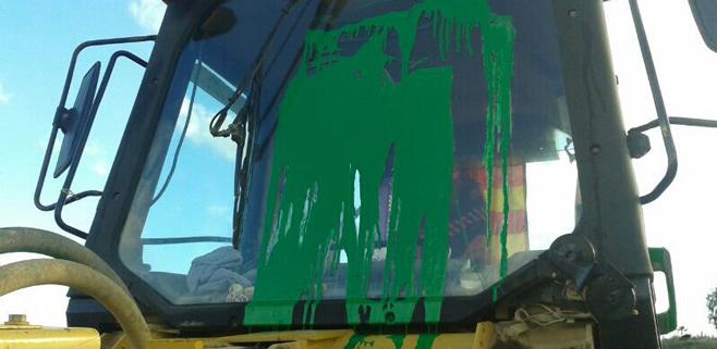 Vandalismo en Ses Fontanelles