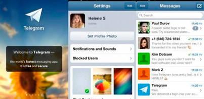 Telegram sube 1,8 millones de usuarios por WhatsAap