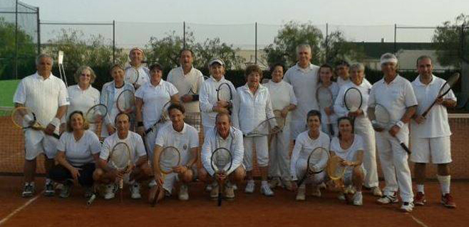 Una jornada de tenis vintage