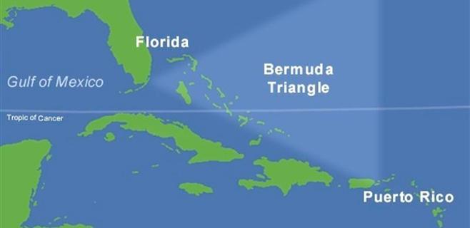 No hay una fatalidad especial en el Triángulo de las Bermudas
