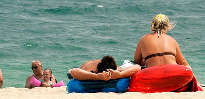 El gasto turístico de extranjeros en las islas cae un 10,2% en enero