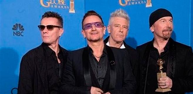 U2 actuarán en los Óscar
