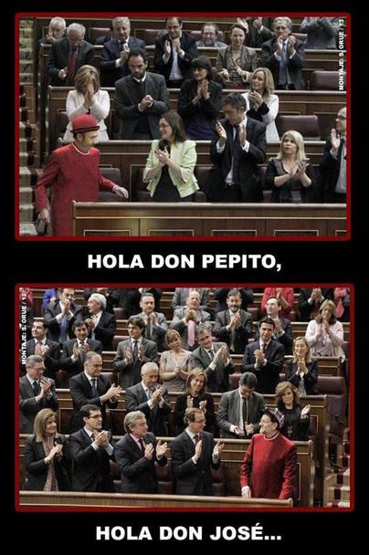 Hola don Pepito, hola don José