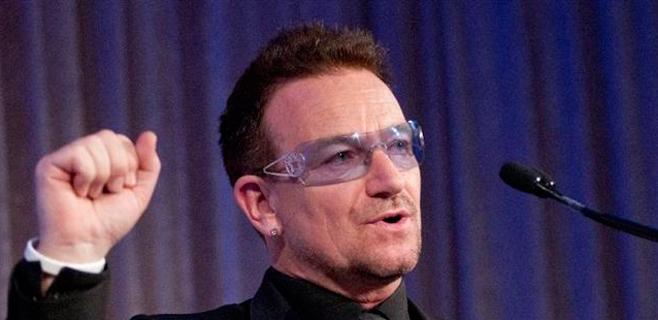 Bono (U2) pide apoyo a la economía española