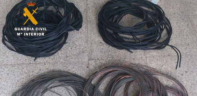 Detenido un hombre por robar 700 kilos de cobre en el Pla de Mallorca