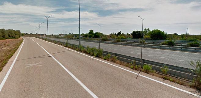 Muere un ciclista en la carretera de Llucmajor al ser alcanzado por un coche
