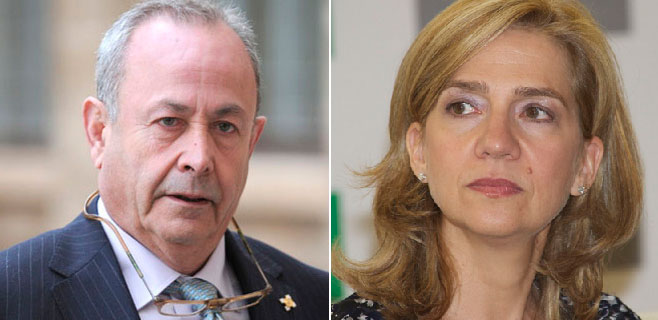 La infanta Cristina pide a Castro que le reduzca la fianza de 2,7 millones