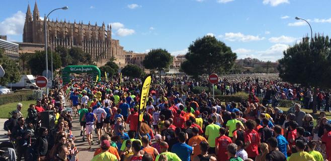 16.000 piernas en la Media Marathon