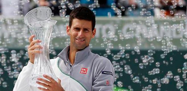 Djokovic recorta distancias con Nadal antes de la tierra batida