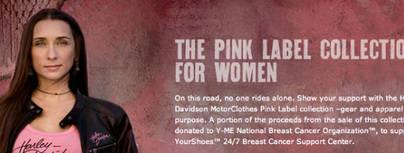 Harley contra el cáncer de mama