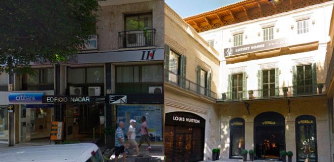 La Federación aplaude la eclosión de hoteles de lujo en el centro de Palma