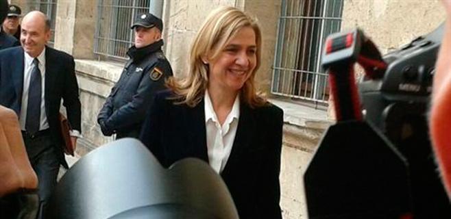 La Audiencia de Palma pospone su decisión sobre la Infanta Cristina