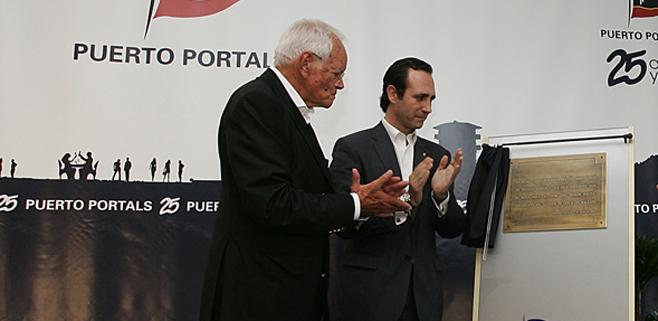 Muere el propietario de Puerto Portals, Klaus Graf