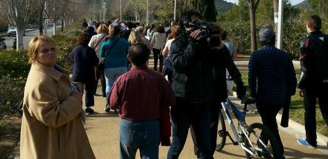 150 personas recuerdan que hace 3 meses que desapareció Malén Ortiz