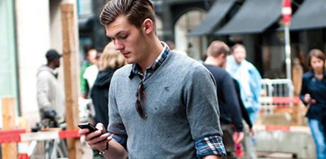 Escribir en el móvil al caminar dejará de ser un peligro