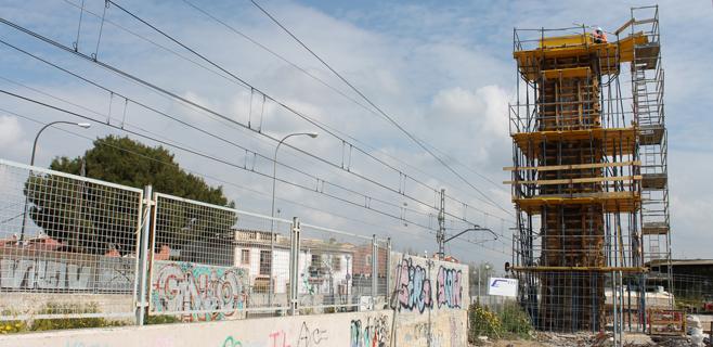 La pasarela de Can Foradí estará lista en abril con un coste de 180.000 euros