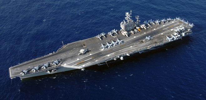 Un portaaviones estadounidense hará escala en Palma