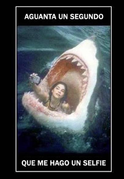 La locura del selfie