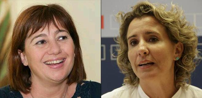 Armengol y Calvo (PSIB) se desafían en el Votómetro de las Primarias
