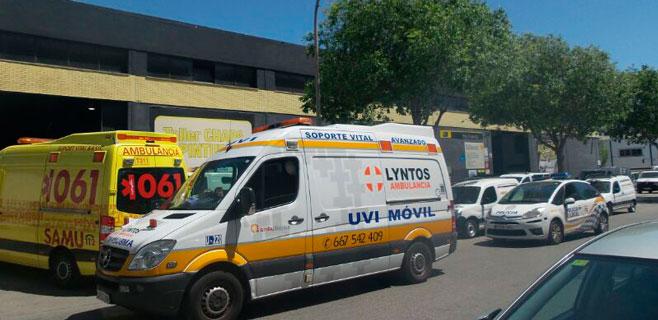 Dos heridos en un accidente de moto en Son Castelló