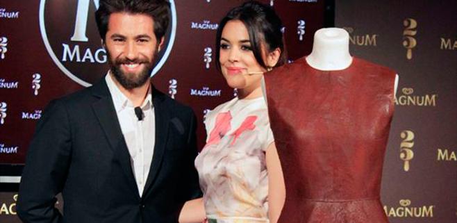 Adriana Ugarte lucirá un vestido de chocolate