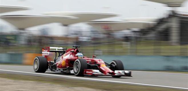 Alonso saldrá quinto en China