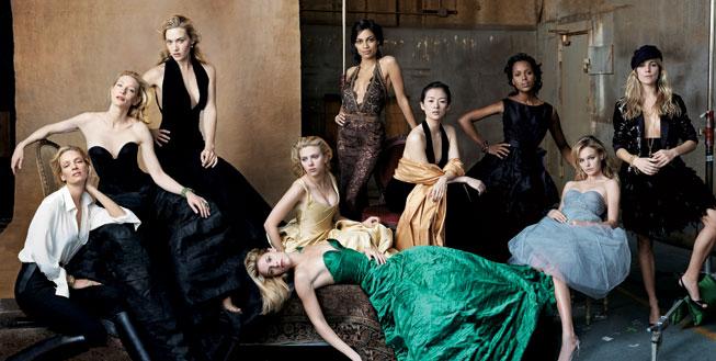 La historia fotográfica de Annie Leibovitz