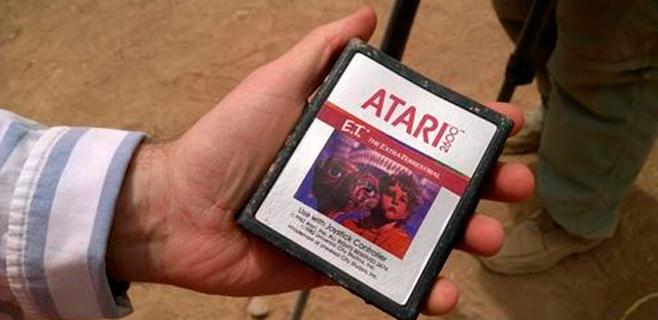 Hallados en el desierto cartuchos del peor videojuego de la historia