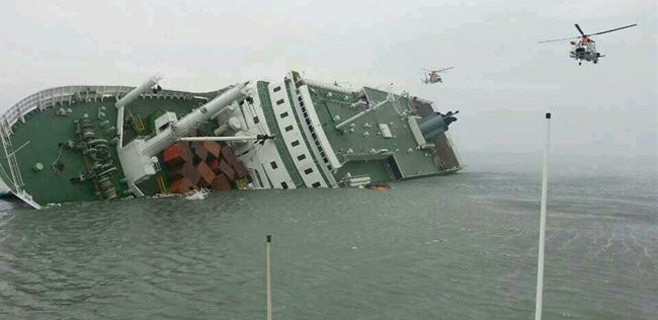 Tragedia marítima en Corea del Sur