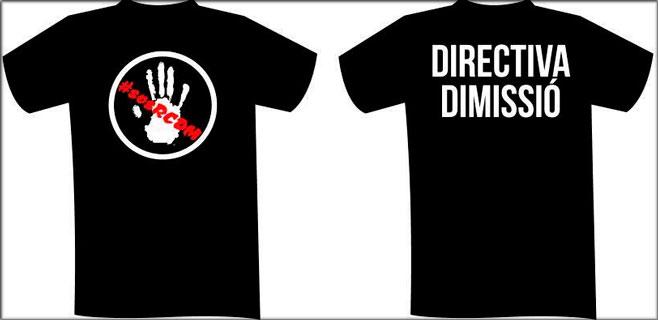 La afición lucirá camisetas negras contra la directiva