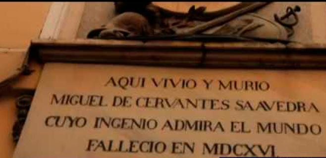 El georradar empieza a buscar los restos de Cervantes