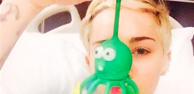 Miley Cyrus, hospitalizada