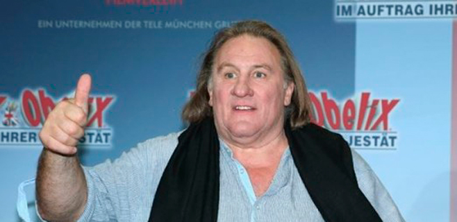 Depardieu, ante el juez por conducir bebido