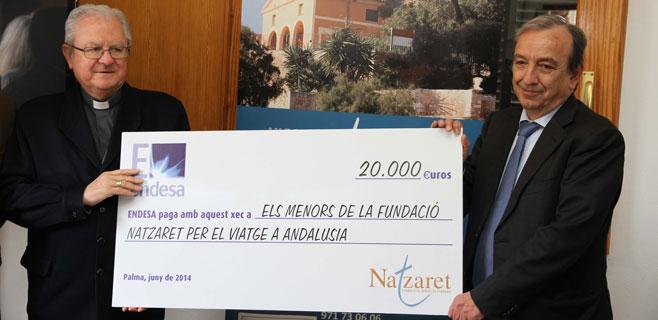 Endesa financia el viaje de 45 niños de la Fundació Natzaret