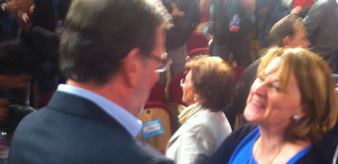 Estaràs y Rajoy, cara a cara