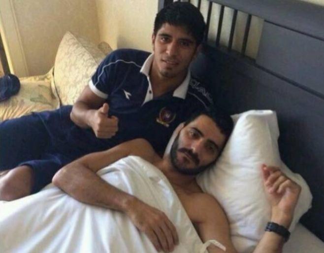 Polémica por una foto de Güiza en la cama con un hombre