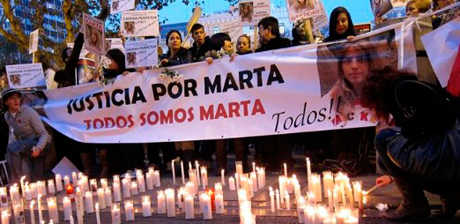 Los huesos hallados no son de Marta del Castillo