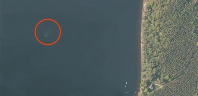 Apple Maps ha encontrado al monstruo del Lago Ness